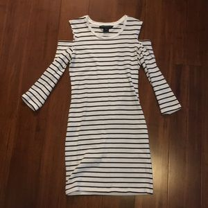 French Connection Cold Shoulder Dress